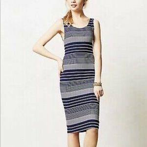 Anthropologie Maeve Long Robb knit Tank Dress